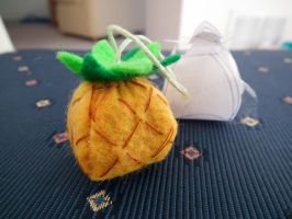 Stuffed Pineapple by EvanescentEvents