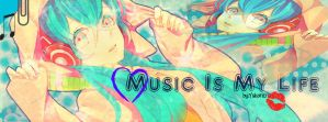 Music is my life ver.2 Cover Photo by YukariEru