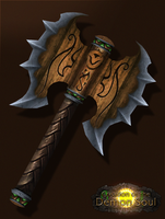 Axe of Cenarius by Daerone
