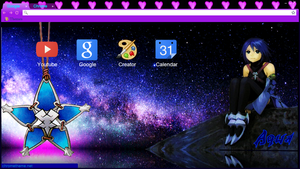Aqua Chrome Theme by AnIm3MaNgA