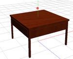 MMD Cherry Table by BlAcK-BlADEn