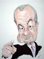Sir Alan Sugar Caricature by Steveroberts