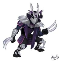 Shredder by WonderDookie