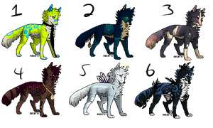 Wolf Auctions :closed: by bioticsoul