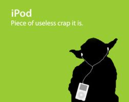 Yoda iPod by RainbowBubble