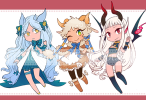 Girls with Horns [OPEN] by adopts-tantan