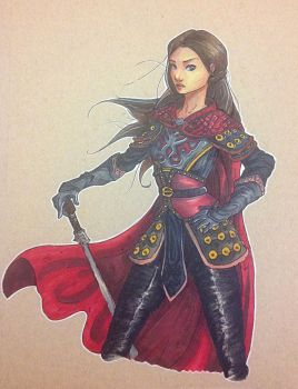 Mulan - Once Upon a Time by Totemos