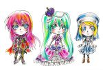 Vocaloid MagicLand Chibis by nyuhatter