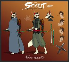 Foxblood Ref Sheet by TravisHarris