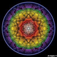 Mandala drawing 11 colour v2 by Mandala-Jim