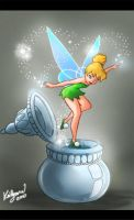 Tinkerbell by chocolatecherry