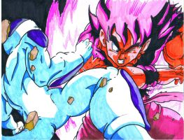 frieza vs goku by trunks24