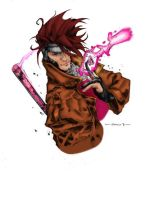 Gambit Colored by idleideas