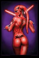 Darth Talon by AlexBuechel