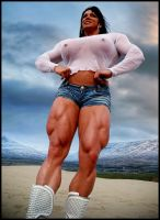 Muscle Babe 002 by Paddy86