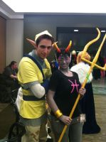 Pipit - Zelda Skyward Sword WITH Meenah by Mind-Like-A-Puzzle