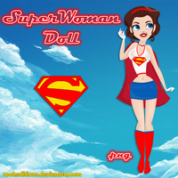 SuperWoman Doll by RoohEditions