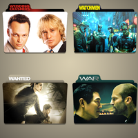 W movies folder icon pack by Kliesen