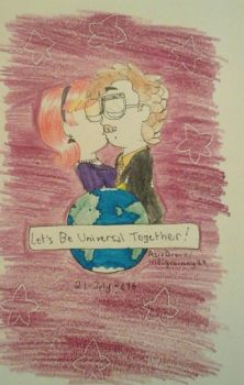 Let's Be Universal Together! by indigobunny99