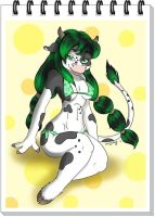 Winni the Pin Up Cow by SkoxArt