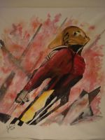 the rocketeer finished by FluffyWho