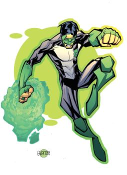kyle rayner by johnnymorbius
