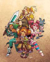 +WAKFU+ Wakfu's angels by Nephyla