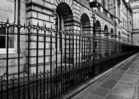 Edinburgh Railings by Estruda