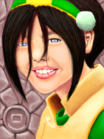 Toph by EclecticNinja