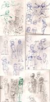 Sketches April '14 by Frey-ofthe-Arcane