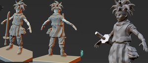 Crono Sculpt W.I.P by Unclesatan