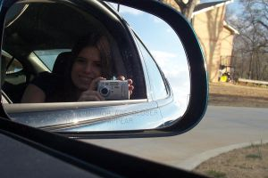 Objects In Mirror Are Closer by Elenawen