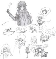 GRELL SKETCHES by Eternally-Blind