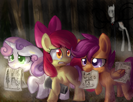 CUTIE MARK CRUSADERS  P..paper gather..ers..? by Pon3Splash