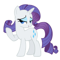 Rarity vector by punchingshark