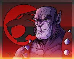Panthro Colored by VexyFate