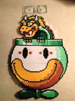 Bowser from Super Mario World by radioactivehead