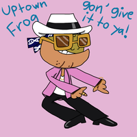 Awsmnts: Uptown Frog by ZootyCutie