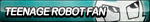 Teenage Robot Fan Button by ButtonsMaker