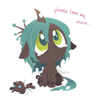 Baby Chrysalis by Ssalbug