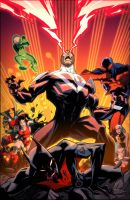 Batman Beyond Universe #2 by KharyRandolph