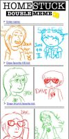 swaggerific double homestuck meme by 420weedlord420