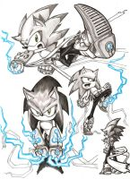 Sonic Sketches by Christhopper
