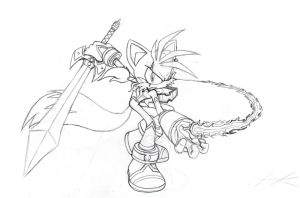 Secret Freedom Fighters Seaira Preview Sketch by THEATOMBOMB035