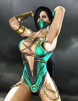 Jade the Sexy Edenian by LordHayabusa357
