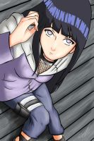 Hinata Colored by Anna-Paula
