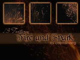 fire and spark textures by captainarrg