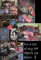 ALL MY HARRY POTTER STUFF by spaghettiblue