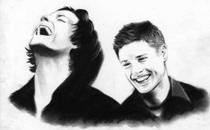 Jared and Jensen by meilin-mao