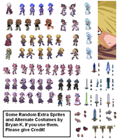Extra Disgaea characters by Firewarrior117